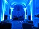 Borgo San Fedele - illuminazione LED per matrimonio