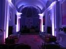Illuminazione a LED per eventi a borgo san fedele