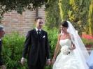 9 Luglio - Daniele e Francesca - Castello di Leonina - arrivo degli sposi