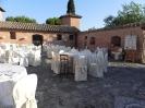 9 Luglio - Daniele e Francesca - Castello di Leonina - spazio cena
