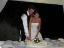 9 Luglio - Daniele e Francesca - Castello di Leonina - taglio della torta