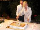 monica e Kevin san gimignano - taglio torta