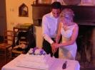 Taglio torta per matrimonio in toscana