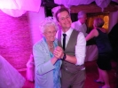 the groom with his grandmother - wedding  party with DJ carmignano